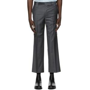 Martin Asbjorn Grey Wool Bruce Cargo Pants