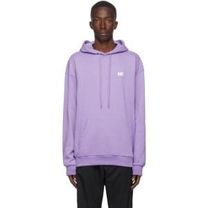 Martin Asbjorn Purple Logo Hoodie
