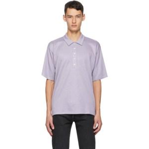 Martin Asbjorn Purple Oversized Brent Polo