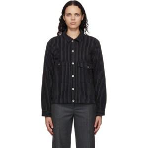 YMC Black Pinstripe Pinkley Jacket