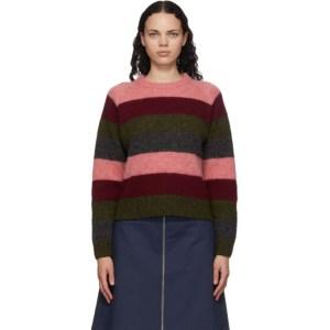 YMC Multicolor Striped Bryer Sweater