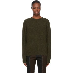 YMC Khaki Wool Jets Sweater