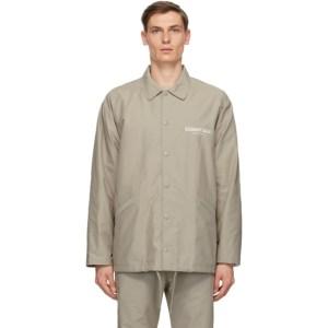 Essentials Grey Souvenir Jacket