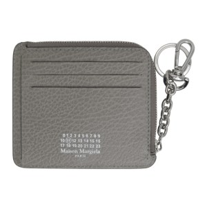 Maison Margiela Grey Keychain Card Holder