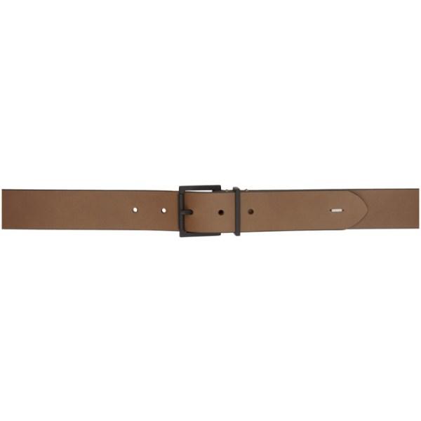 Maison Margiela Brown Basic Belt