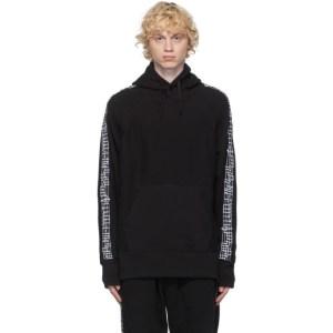 Engineered Garments Black Taped Hoodie
