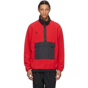 Nike ACG Red NRG Half-Zip Sweater