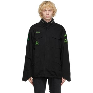 Sankuanz Black Military Jacket