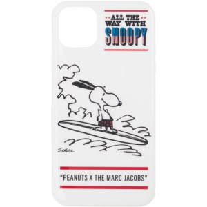 Marc Jacobs White Peanuts Edition Snoopy iPhone 11 Case