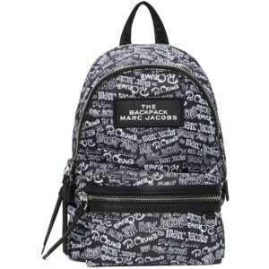 Marc Jacobs Black Robert Crumb Edition Medium Backpack
