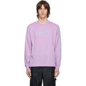 Marc Jacobs Purple Heaven by Marc Jacobs Crazy Daisy Long Sleeve T-Shirt