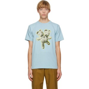 Marc Jacobs Blue Heaven by Marc Jacobs Double-Headed Teddy T-Shirt