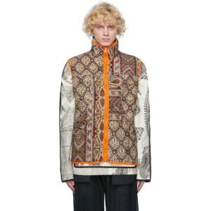 paria /FARZANEH Reversible Multicolor Iranian Ghalamkar Gore-Tex® Infinium Vest