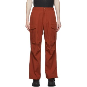 paria /FARZANEH Red Geri Cargo Trousers