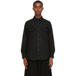 Stay Made Black Quilted Greenspan Shirt