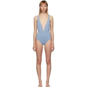 Haight Blue Marina One-Piece Swimsuit