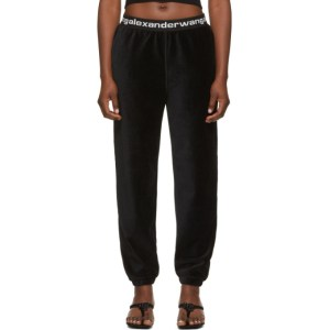 alexanderwang.t Black Corduroy Lounge Pants