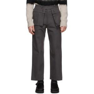 Kuro Grey Monster Cargo Pants