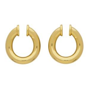 Portrait Report Gold Mini Twist Ring Ear Cuffs