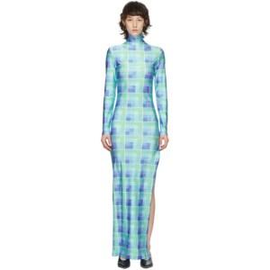 Supriya Lele Blue and Green Polo Dress