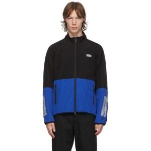 Junya Watanabe Black and Blue Karrimor Edition Fleece Jacket