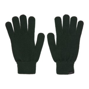 Paul Smith Green Cashmere Gloves