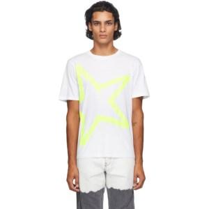 Golden Goose White Adamo Star T-Shirt