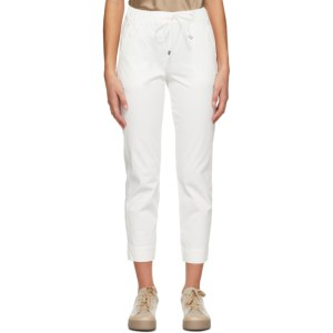 Max Mara Leisure Off-White Austero Lounge Pants
