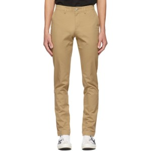 Lacoste Tan Chino Trousers
