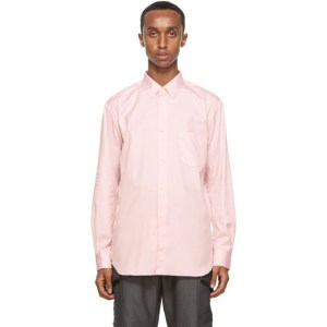 Comme des Garcons Shirt Pink Oxford Forever Shirt