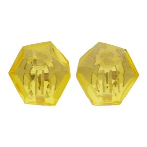 Monies Yellow Hailey Earrings