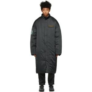A.A. Spectrum Black Padded Puffer Coat