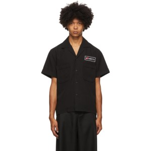 both Black Second Layer Edition Pocket Button Down Shirt