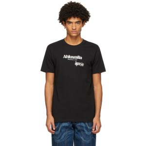 Ahluwalia Black Frequency T-Shirt