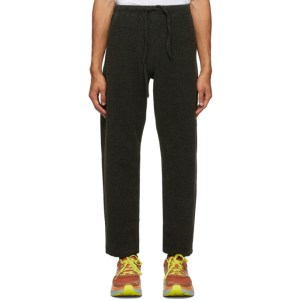 South2 West8 Green Corduroy Dobby Trousers