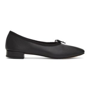 Repetto Black Danse Heeled Ballerina Flats