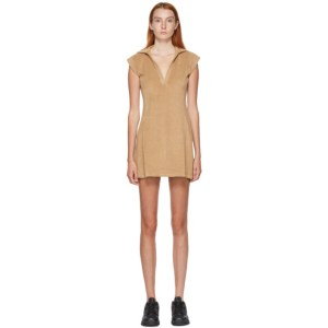 Gil Rodriguez SSENSE Exclusive Tan Coco Terry Tennis Dress
