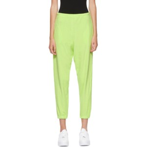 Gil Rodriguez SSENSE Exclusive Green Terry Beachwood Lounge Pants