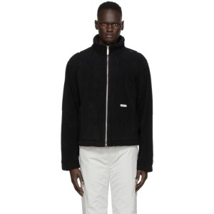C2H4 Black Fleece Intervein Stitch Jacket