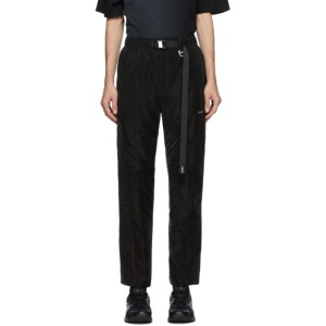 C2H4 Black Vanward Layered Lounge Pants