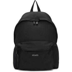 Axel Arigato Black Sterling Logo Backpack