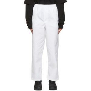 GR10K White Klopman Capital Trousers