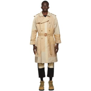 Children of the Discordance Beige Vintage NY Trench Coat