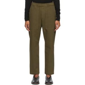 Barena Khaki Trabaco Trousers