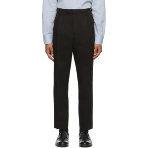 Barena Black Masco Trousers