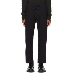 Barena Navy Bativoga Trousers