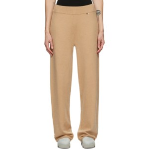 Extreme Cashmere Tan Cashmere Trouser Lounge Pants