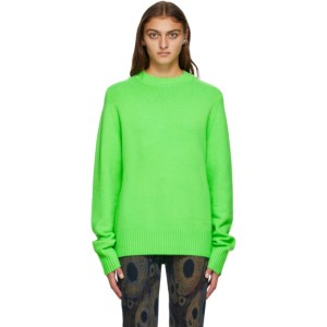 Extreme Cashmere Green Cashmere Bourgeois Sweater