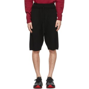Judy Turner Black Wool Miles Shorts
