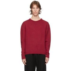 Judy Turner Red Wool Meers Sweater